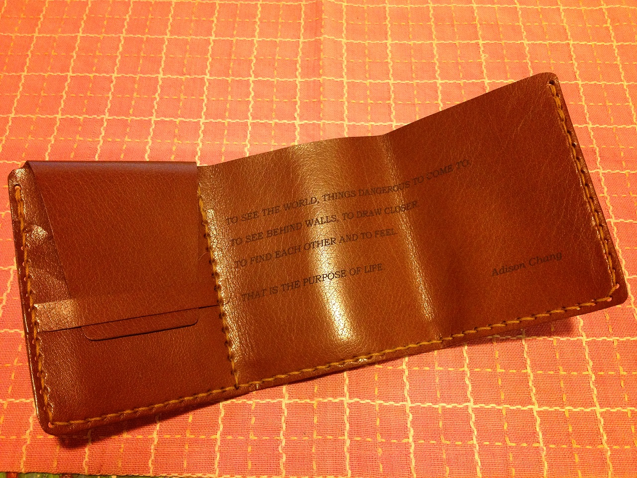 walter mitty wallet